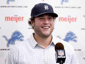 Video - Matthew Stafford talks contract, Lions' expectations