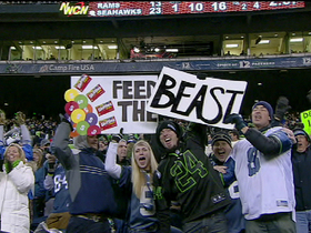 Video - Seahawks fan eyes world record