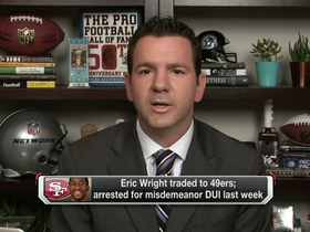 Video - Eric Wright traded from Tampa Bay Buccaneers to San Francisco 49ers