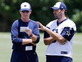 Video - Jason Garrett is happy to have Tony Romo back