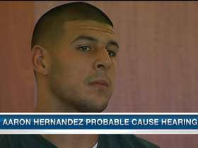 Video - Busy week ahead for New England Patriots tight end Aaron Hernandez