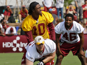 Video - RGIII: Not ready for team drills