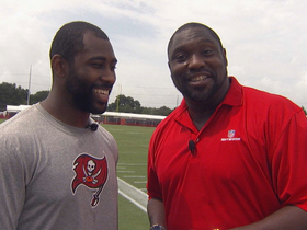 Video - Warren Sapp goes 1-on-1 with Tampa Bay Buccaneers' Darrelle Revis