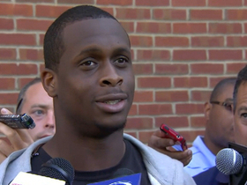 Video - New York Jets rookie quarterback Geno Smith excited after first day at practice