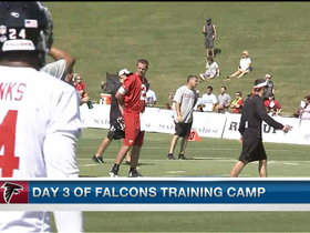 Video - Atlanta Falcons QB Matt Ryan goes up against cornerback Asante Samuel