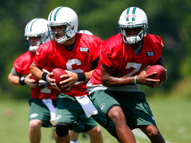 Video - The QB competition heats up for the New York Jets