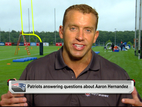 Video - How New England Patriots will handle post-Aaron Hernandez era