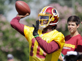 Video - Solomon Wilcots: 'All things look really good for Washington Redskins QB Robert Griffin III'