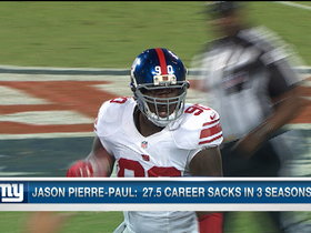 Video - New York Giants Jason Pierre-Paul says he's at 75 percent