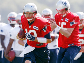 Video - New England Patriots face inexperience at wide reciever