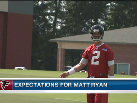 Video - Expectations for Atlanta Falcons quarterback Matt Ryan