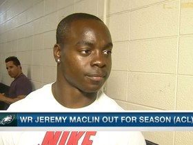 Video - Philadelphia Eagles wide receiver Jeremy Maclin discusses torn ACL