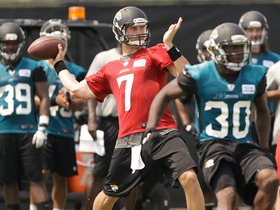 Video - Who will the Jacksonville Jaguars start at QB in Week 1?