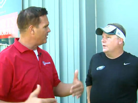 Video - Philadelphia Eagles coach Chip Kelly 1-on-1 at training camp