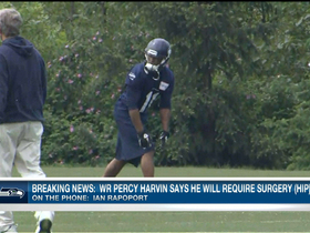 Video - Latest details on Seattle Seahawks WR Percy Harvin's upcoming surgery