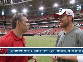 Video - Carson Palmer ready to lead Cardinals