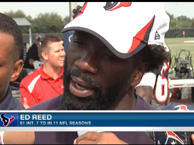 Video - Houston Texans safety Ed Reed speaks on his playing condition