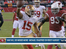 Video - Who will be missed more: Michael Crabtree or Percy Harvin?