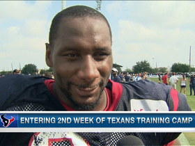 Video - Houston Texans defensive end Antonio Smith prefers NFC vs. AFC format