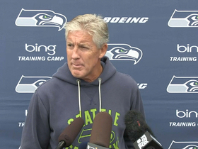 Video - Seattle Seahawks coach Pete Carroll says receiver Percy Harvin's surgery went well