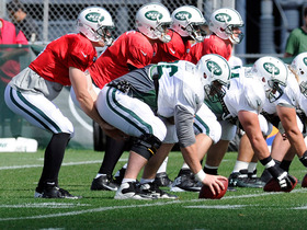 Video - New York Jets aren't focusing on QB battle