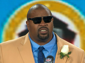 Video - Larry Allen's Pro Football Hall of Fame speech