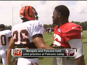 Video - Cincinnati Bengals-Atlanta Falcons practice