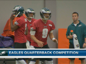 Video - Is Nick Foles the favorite in Philadelphia?