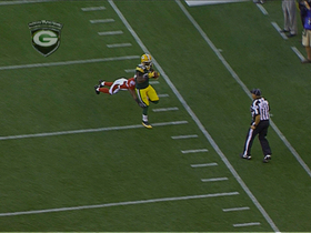 Video - Green Bay Packers wide receiver James Jones catches 50-yard deep ball