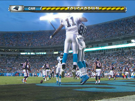 Video - Carolina Panthers quarterback Cam Newton to wide receiver Brandon LaFell for 3-yard TD