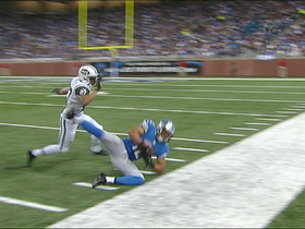 Video - Detroit Lions wide receiver Matt Willis stays in bounds on big catch