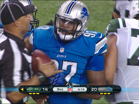 Video - Lions force, recover fumble