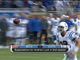 Video - Expectations for Indianapolis Colts QB Andrew Luck in year 2
