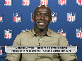 Video - Happily retired, former Green Bay Packers wide receiver Donald Driver rates Lambeau Leaps