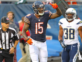 Video - Chicago Bears wide receiver Brandon Marshall 5-yard TD catch