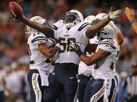 Video - San Diego Chargers linebacker Donald Butler picks off Chicago Bears quarterback Jay Cutler