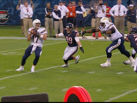 Video - Chicago Bears defensive end Shea McClellin sack-fumble