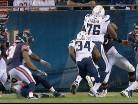 Video - San Diego Chargers tackle D.J. Fluker paves way for running back Fozzy Whittaker TD