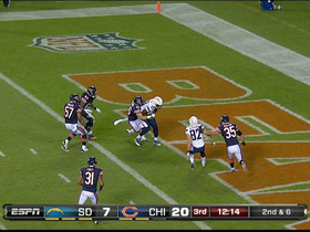 Video - San Diego Chargers tight end Ladarius Green 12-yard TD catch