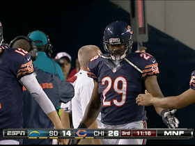 Video - Chicago Bears running back Michael Bush 3-yard TD run