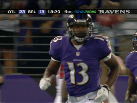 Video - Baltimore Ravens QB Tyrod Taylor throws a 40-yard TD pass to Aaron Mellette