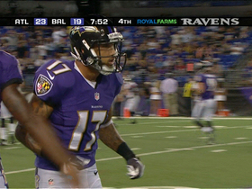 Video - Baltimore Ravens wide receiver Tandon Doss 5-yard TD reception