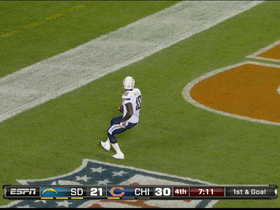 Video - San Diego Chargers wide receiver Mike Willie 6-yard TD catch