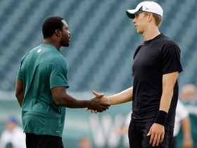 Video - Philadelphia Eagles quarterbacks Nick Foles and Mike Vick react to latest performances