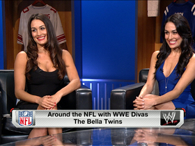 Video - WWE's The Bella Twins debate who should start for the Philadelphia Eagles: Michael Vick or Nick Foles
