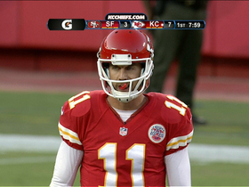 Video - Alex Smith sacked by former teammate Perrish Cox