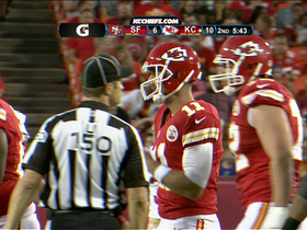Video - Alex Smith sacked by San Francisco 49ers linebacker Corey Lemonier