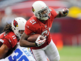 Video - Arizona Cardinals cornerback Patrick Peterson lines up on offense