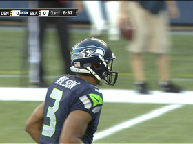 Video - Seattle Seahawks quarterback Russell Wilson fumbles, recovers throws for a TD