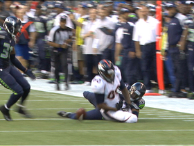 Video - Seattle Seahawks cornerback Brandon Browner strips Julius Thomas